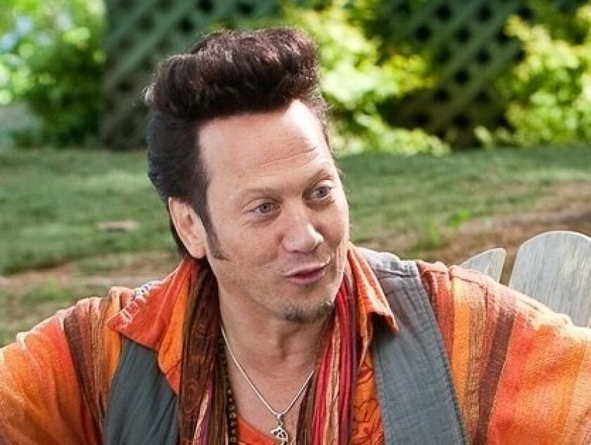 "Rob Schneider in a scene from Columbia Pictures' 2010 movie ""Grown Ups."""