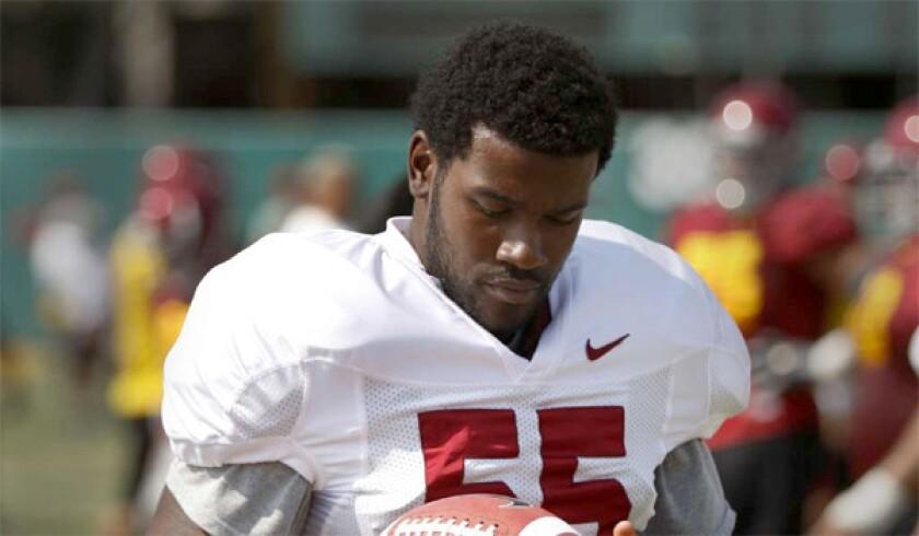 Former USC linebacker Lamar Dawson.