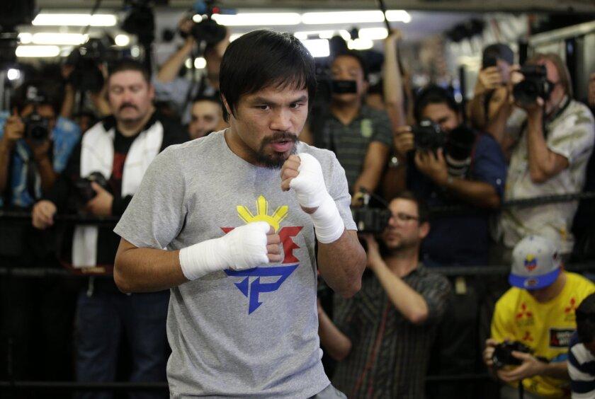 El duelo entre Manny Pacquiao y Floyd Mayweather podrá ser visto en México gratis, a diferencia de los $100 en EE.UU.