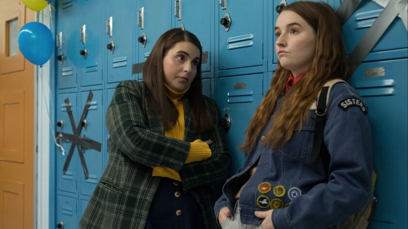 (L-R)- Beanie Feldstein stars as Molly and Kaitlyn Dever as Amy in Olivia Wilde?s directorial debut,