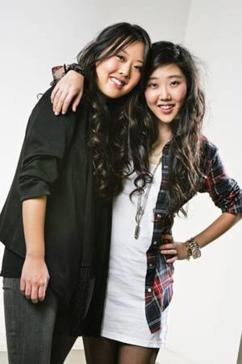 Linda and Esther Chang