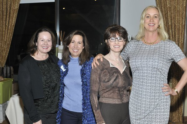 Linda Howard, Marilee Needle, event chair Gabriela Stratton, Sophia Alsadek