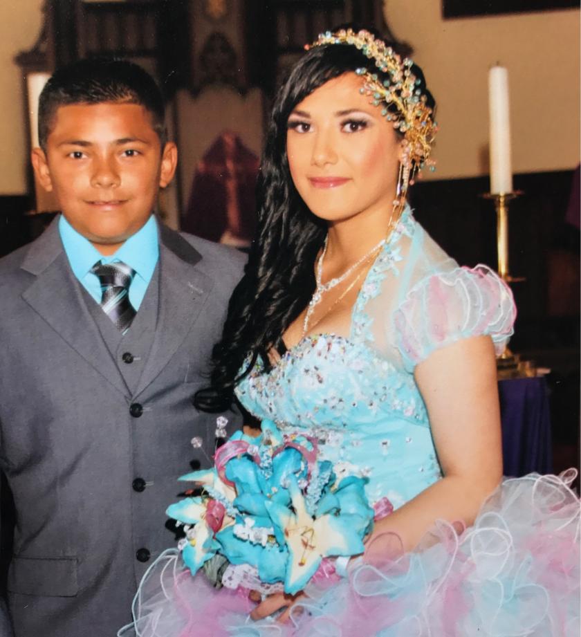 Alexander Soto, 13, and sister Lizbeth Rosario Soto, 18.