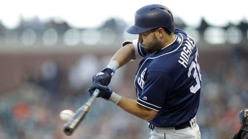 Padres first baseman Eric Hosmer is the team's highest paid player. Would you want his jersey?