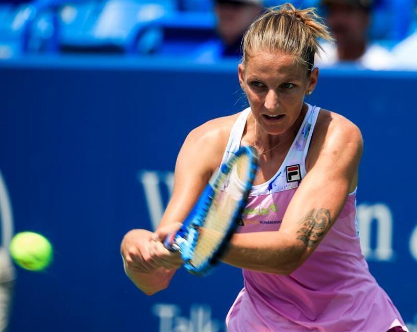 La tenista Karolina Pliskova de República Checa. EFE/Archivo