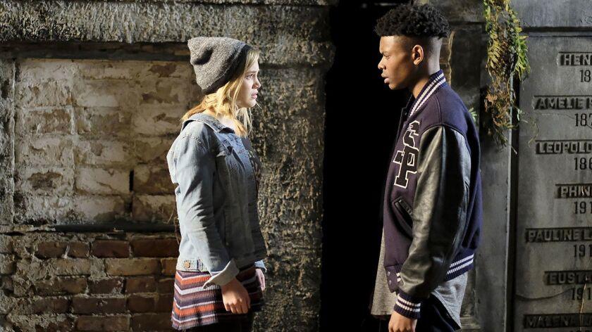 """Marvel's Cloak & Dagger"" stars Olivia Holt and Aubrey Joseph as troubled teen superheroes."