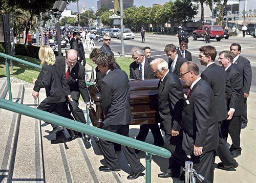 Merv Griffin Funeral