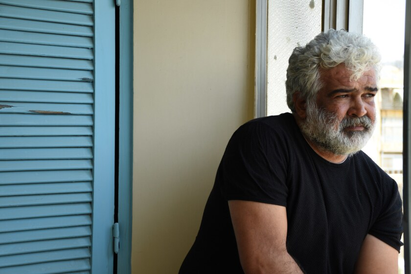 Syrian Author Khaled Khalifa was raised in Aleppo and has lived in Damascus for two decades.