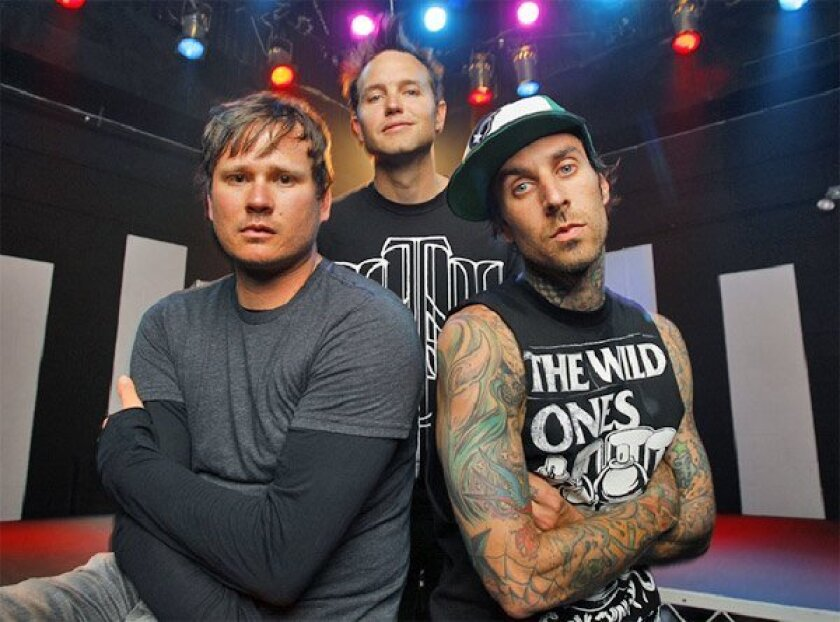 Poway-bred pop-punk band blink-182.