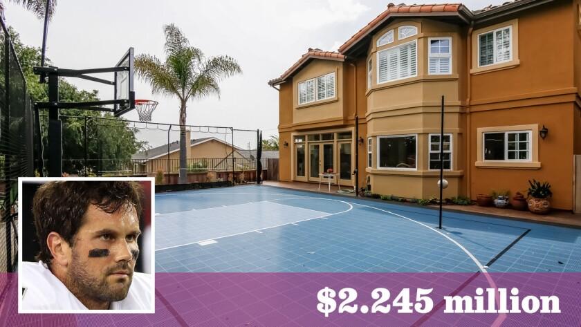 Former USC Trojans star and NFL quarterback Matt Leinart has paid $2.245 million for a home in Manhattan Beach.