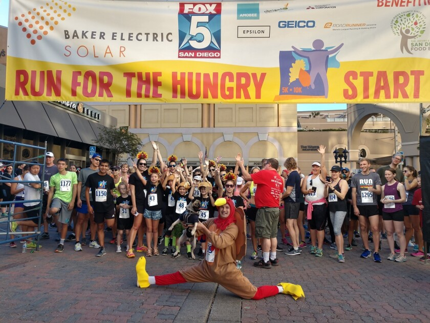 Run for the Hungry.