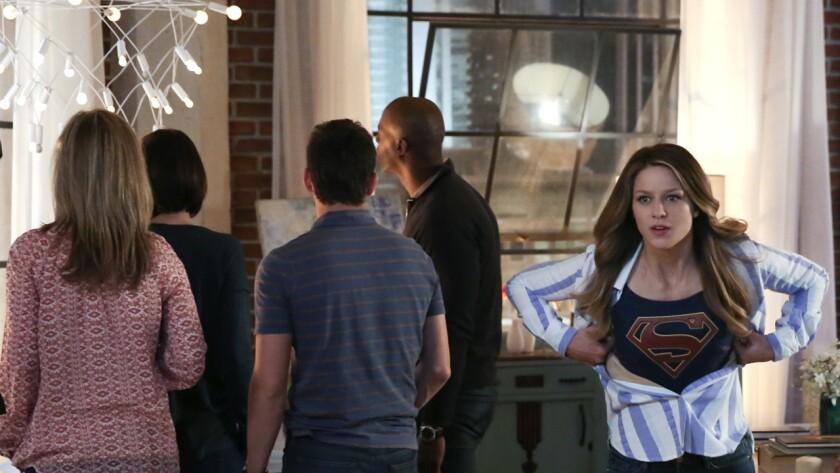 """Melissa Benoist in """"Supergirl"""" on CBS."""