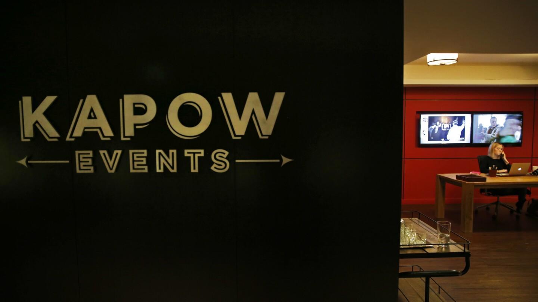 Solomon Cordwell Buenz Architecture designed Kapow Events' perch at 205 W. Upper Wacker Dr.
