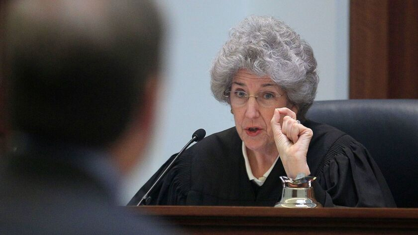 "California Supreme Court Justice Carol A. Corrigan, above in 2011, said the false evidence that led to a Delano man's murder conviction was ""extensive, pervasive and impactful."""