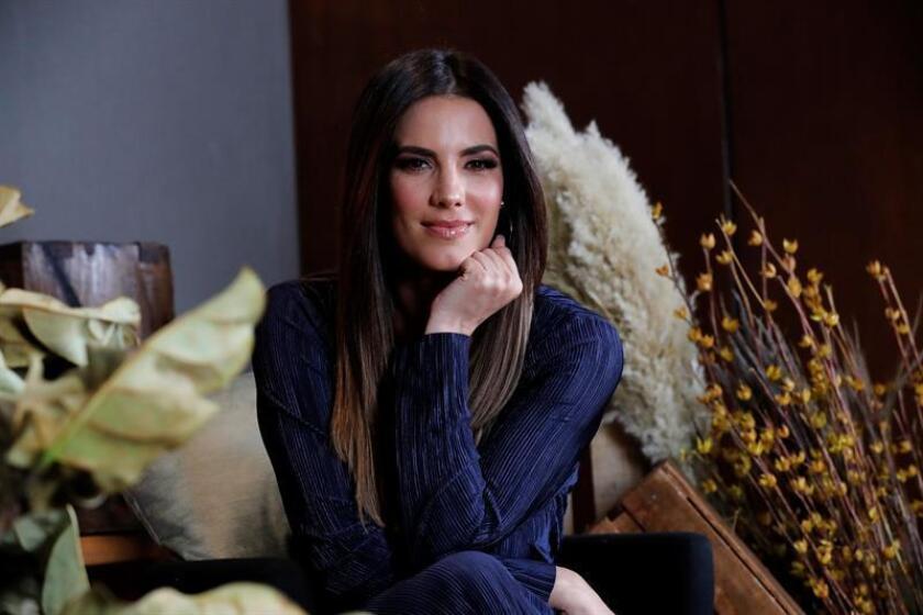 La actriz Gaby Espino durante una entrevista. EFE/Archivo