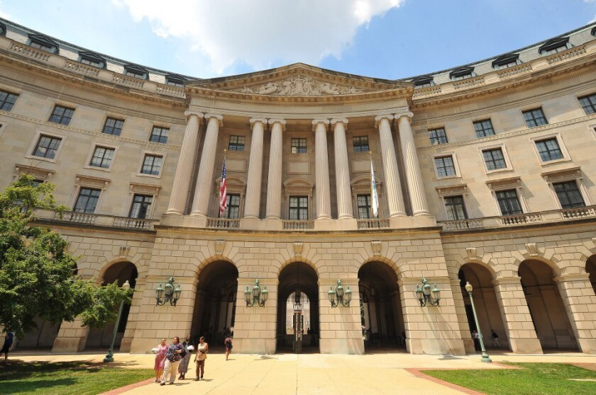 The Environmental Protection Agency headquarters.