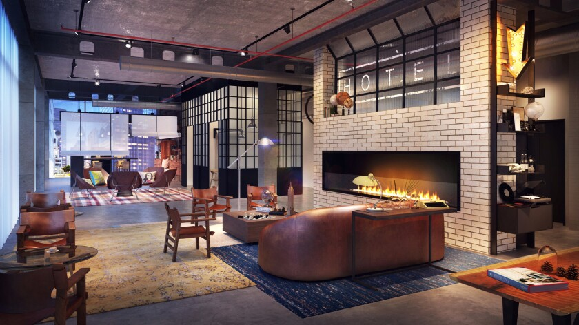 The Moxy Hotel is not where Christopher Reynolds plans to stay next time he is in Washington D.C., but it is a new brand from Marriott set to open next year.