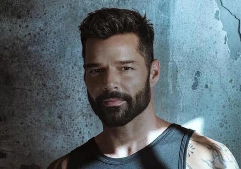 Una imagen de Ricky Martin en las redes sociales.