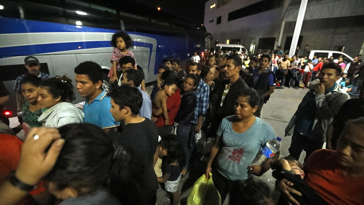 Many migrants on the border are heading home