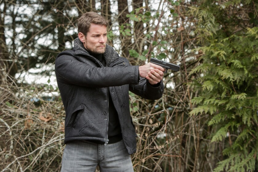 """Damien Puckler appears in an episode of NBC's """"Grimm."""" Puckler is an actor and stuntman who frequently works with small explosive devices called squibs. It's not known what type of squibs were used in this production."""