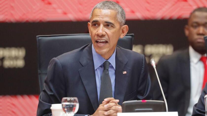 Presidente Barack Obama.