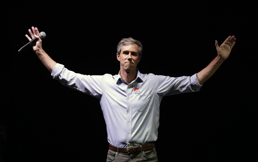 Opinion: Beto O'Rourke's 'church tax' idea plays into conservative paranoia about same-sex marriage
