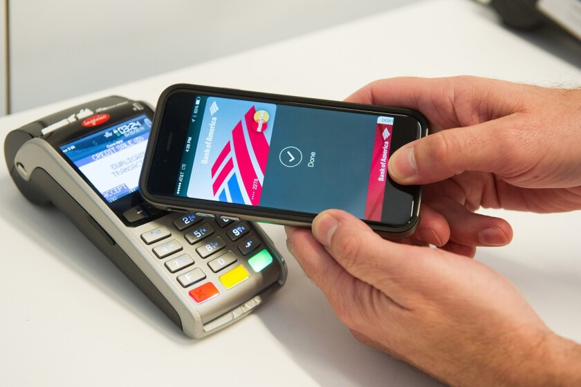 Apple Pay demonstrated