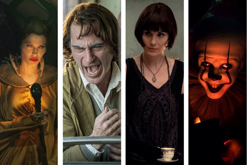 """Angelina Jolie (""""Maleficent: Mistress of Evil""""), Joaquin Phoenix (""""Joker""""), Michelle Dockery (""""Downton Abbey"""") and Bill Skarsgard (""""It Chapter Two"""") are among the stars of this fall's bigger film releases."""