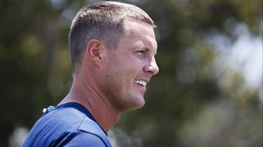 Chargers quarterback Philip Rivers.