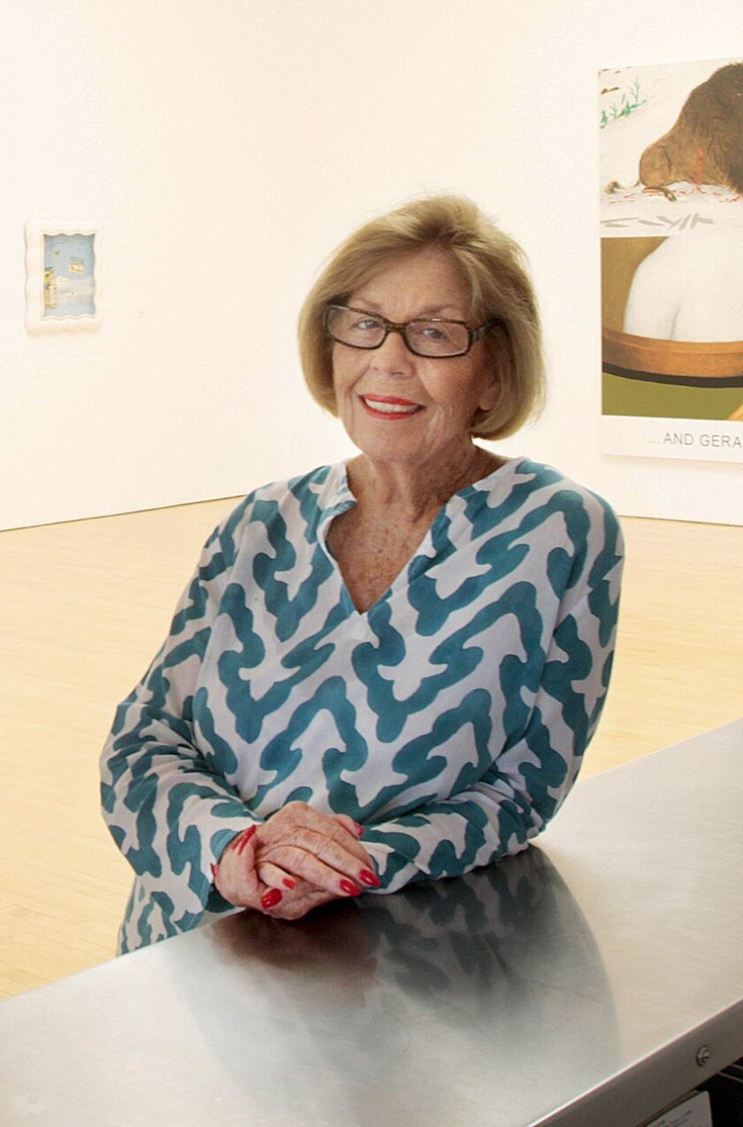 Retired art dealer Margo Leavin, a UCLA alumna, is the lead donor for the $