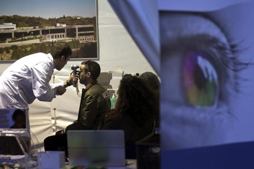 Científicos mexicanos desarrollan una prueba sanguínea que pueda detectar el glaucoma primario de ángulo abierto de manera oportuna y así prevenir la ceguera. EFE/ARCHIVO