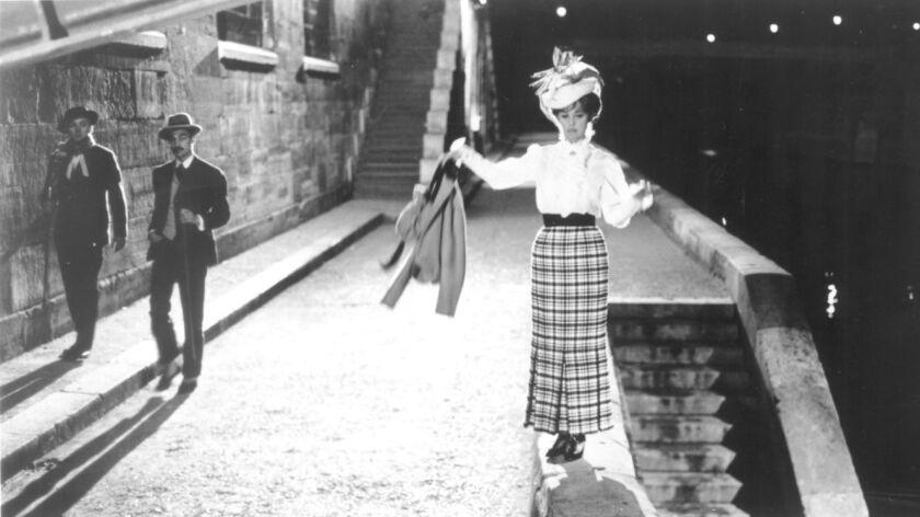 "Oskar Werner, Henri Serre and Jeanne Moreau in the film ""Jules and Jim."""