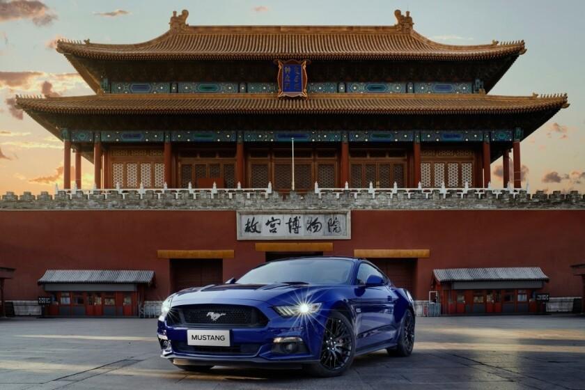 El Ford Mustang.
