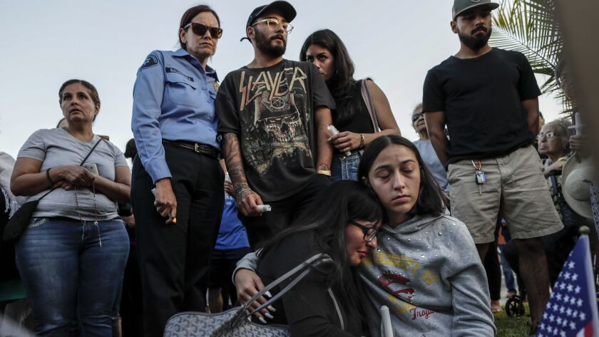 ALHAMBRA, CA, THURSDAY, JUNE 13, 2019 - Jessica Jimenez, step daughter of slain LA Sheriff Joseph So