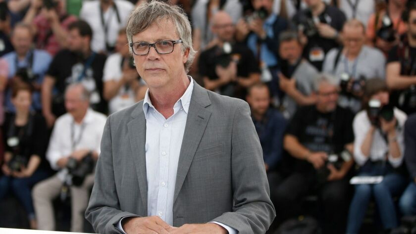 """Director Todd Haynes during the photocall for """"Wonderstruck"""" at the 70th Cannes Film Festival."""