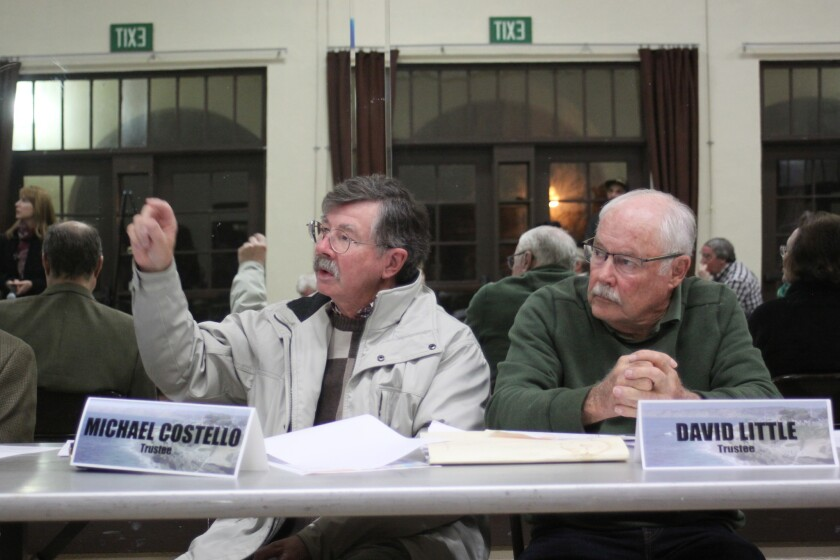 LJCPA trustees Mike Costello and David Little comment on the proposed Rutgers Road street vacation.