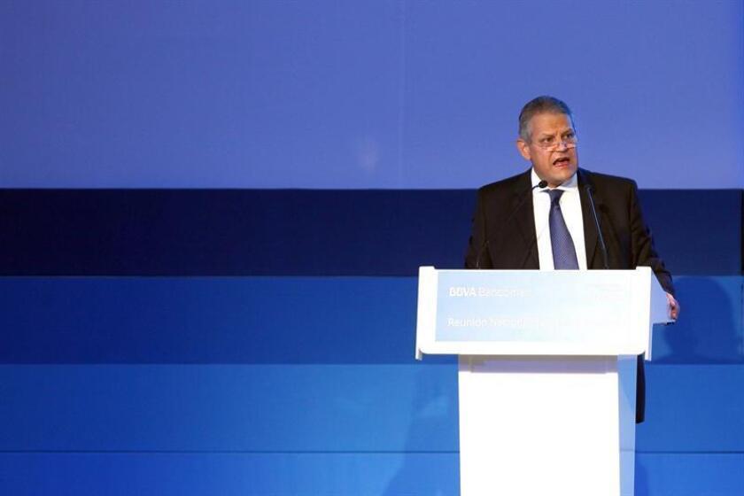 El presidente de la Asociación de Bancos de México (ABM), Luis Robles Miaja. EFE/Archivo