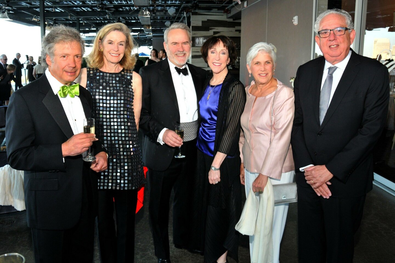 Tom and Maureen Shiftan, Jay Merritt and Carol Lazier (she's San Diego Opera board president), Susan and Richard Ulevitch