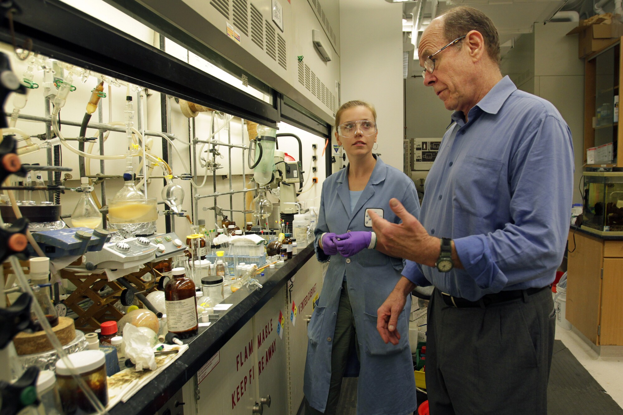 Barry Sharpless, W. M. Keck professor of chemistry at The Scripps Research Institute