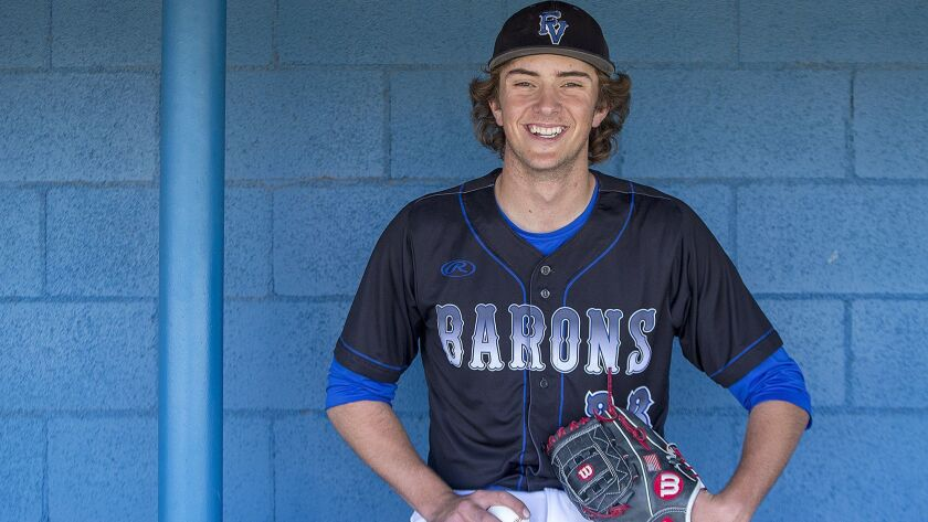 Fountain Valley High baseball pitcher Nathan Wilson is the Daily Pilot High School Male Athlete of