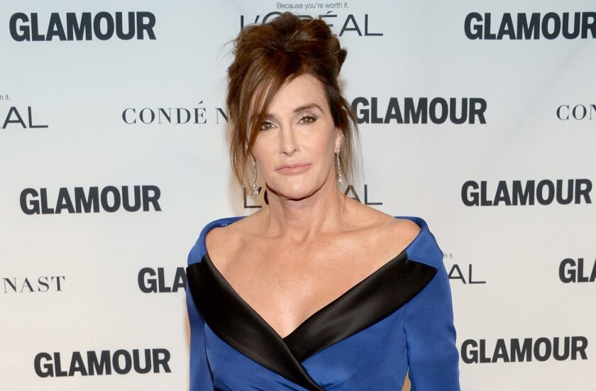 Caitlyn Jenner, shown at the Glamour Women of the Year Awards in New York last month, is being sued by another driver and his family in connection with a fatal traffic collision involving Jenner earlier this year.