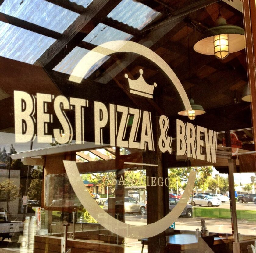 Best Pizza & Brew will open its fifth location in Vista in April.