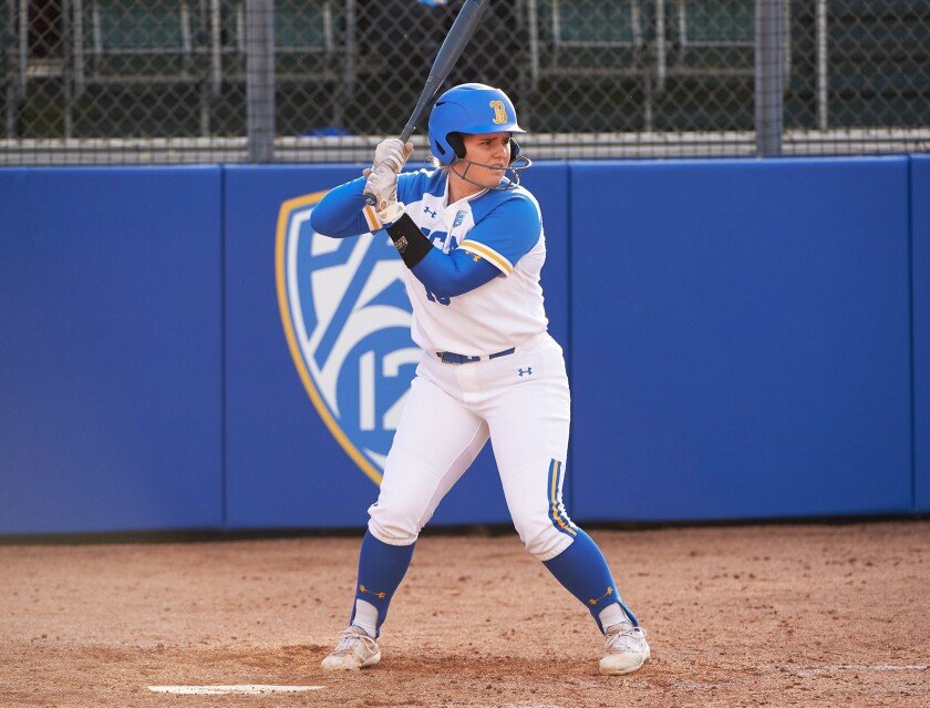 UCLA's Colleen Sullivan, who was named to the Pac-12 Conference All-Freshman Team this season, credits sitting out her junior year in high school with providing a boost to her career.
