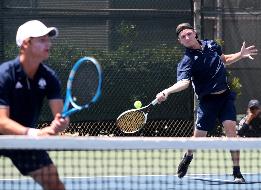 Photo Gallery: CIF Southern Section Individuals boys' tennis tournament