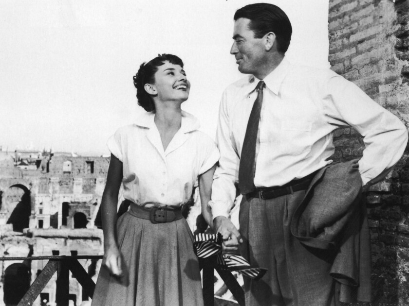 Audrey Hepburn's 1953 'Roman Holiday' an enchanting fairy tale - Los Angeles Times
