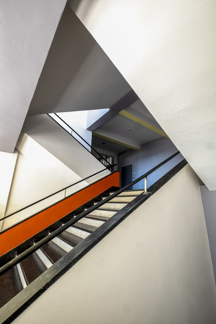 Main Staircase. The Bauhaus Building