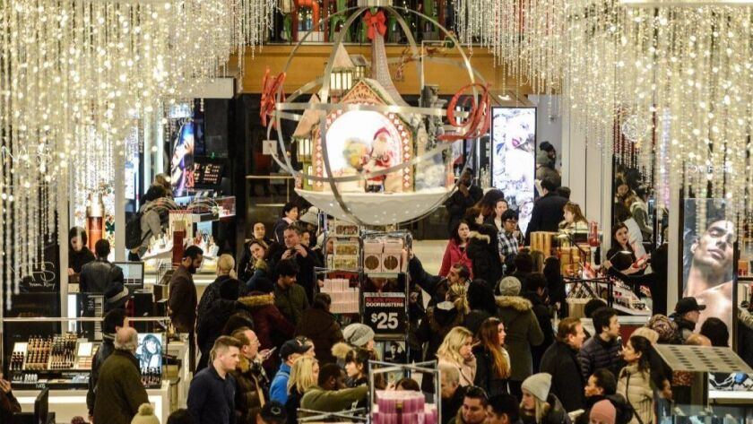 Retailers Officially Launch Holiday Shopping Season The Day After Halloween Los Angeles Times