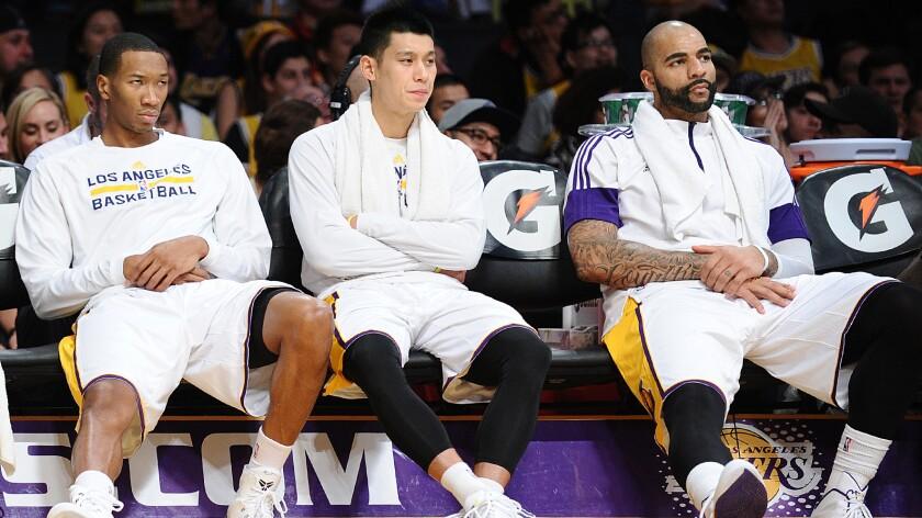 Wesley Johnson, Jeremy Lin, Carlos Boozer