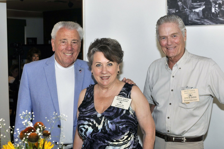 Board member Vearl Smith, Administrator Sharon Alix, board member Steve Dizio