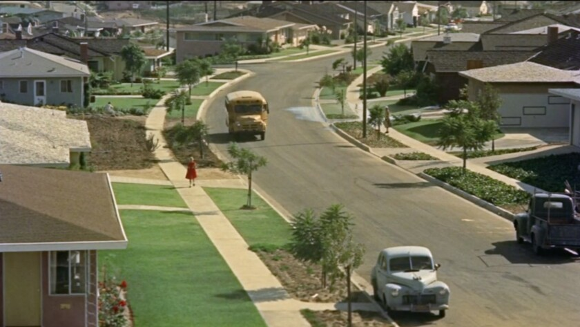 A suburban vista from Lost Landscapes of Los Angeles